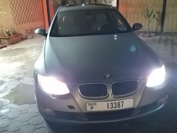 BMW 320i 2008 number 1 in good condition. No accident. One year insurance